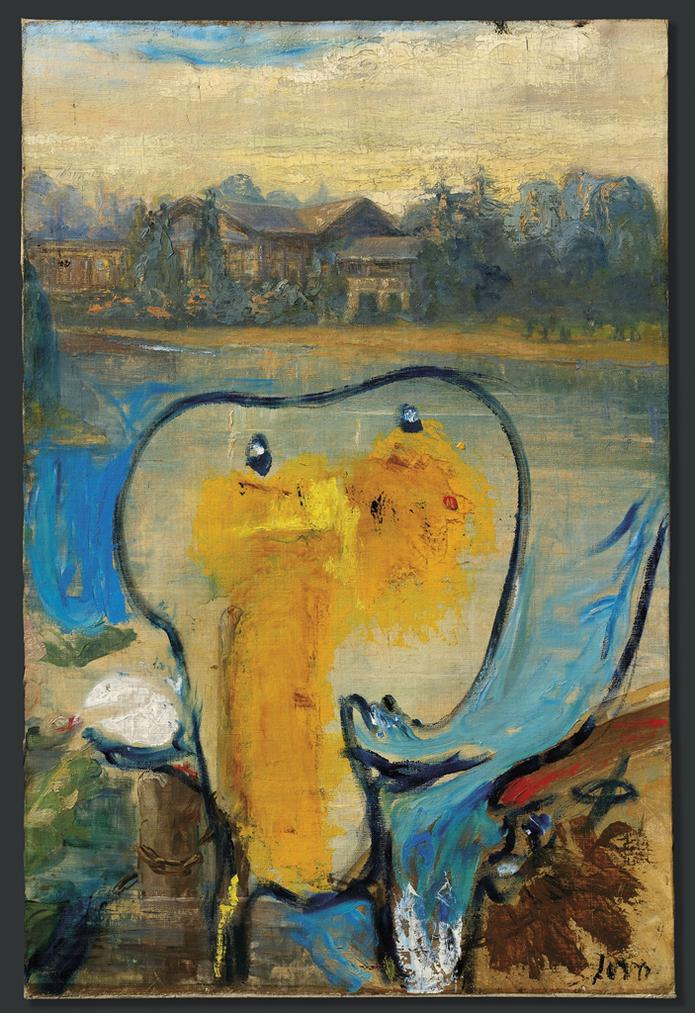 Asger Jorn-Conte Du Nord (Northern Count) (Modification)-1959