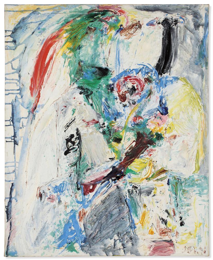 Asger Jorn-La Nuit Blanche (The White Night)-1958