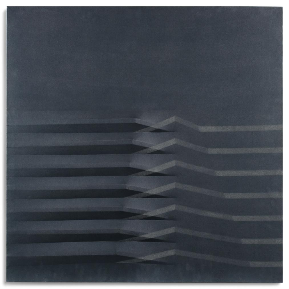 Agostino Bonalumi-Nero (Black)-1979