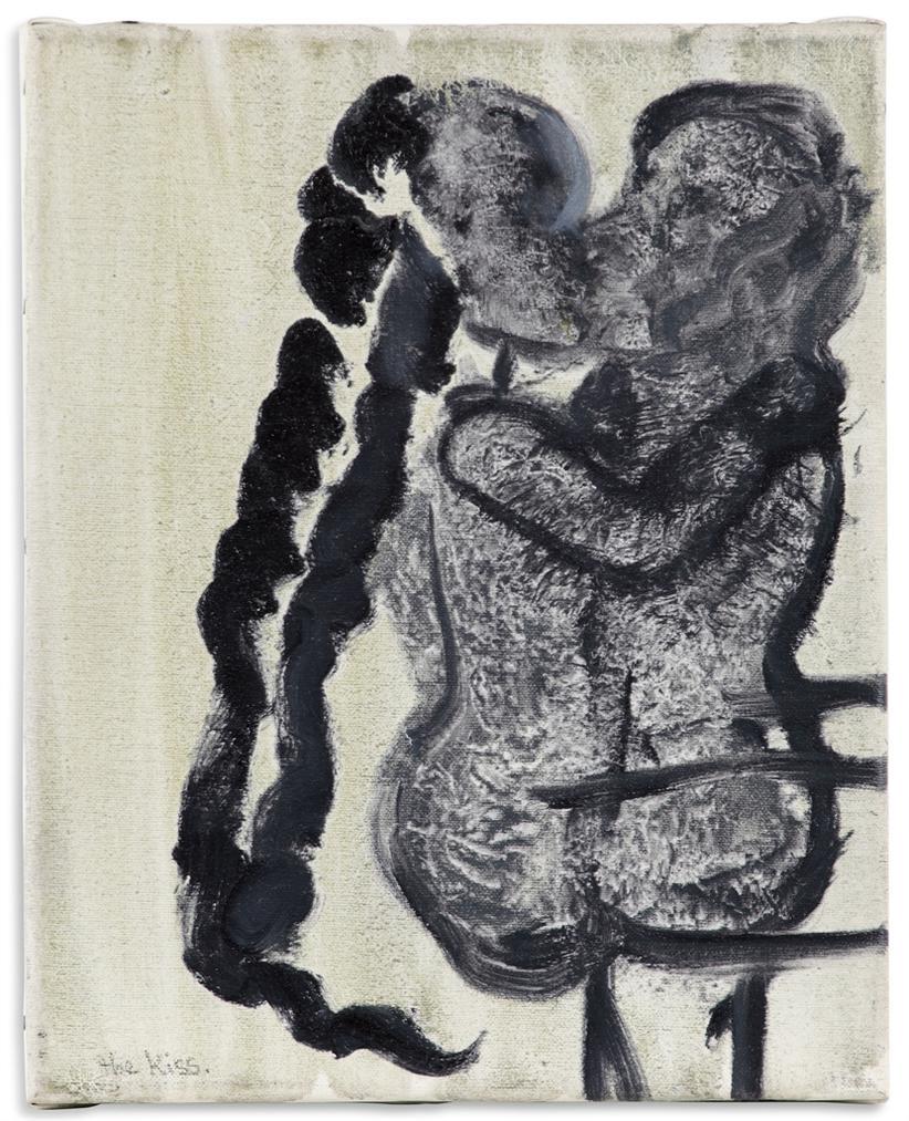 Marlene Dumas-The Kiss-1992