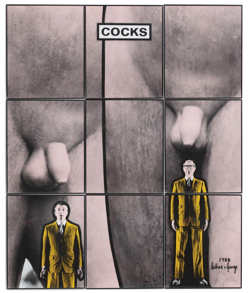 Gilbert and George-Cocks-1988