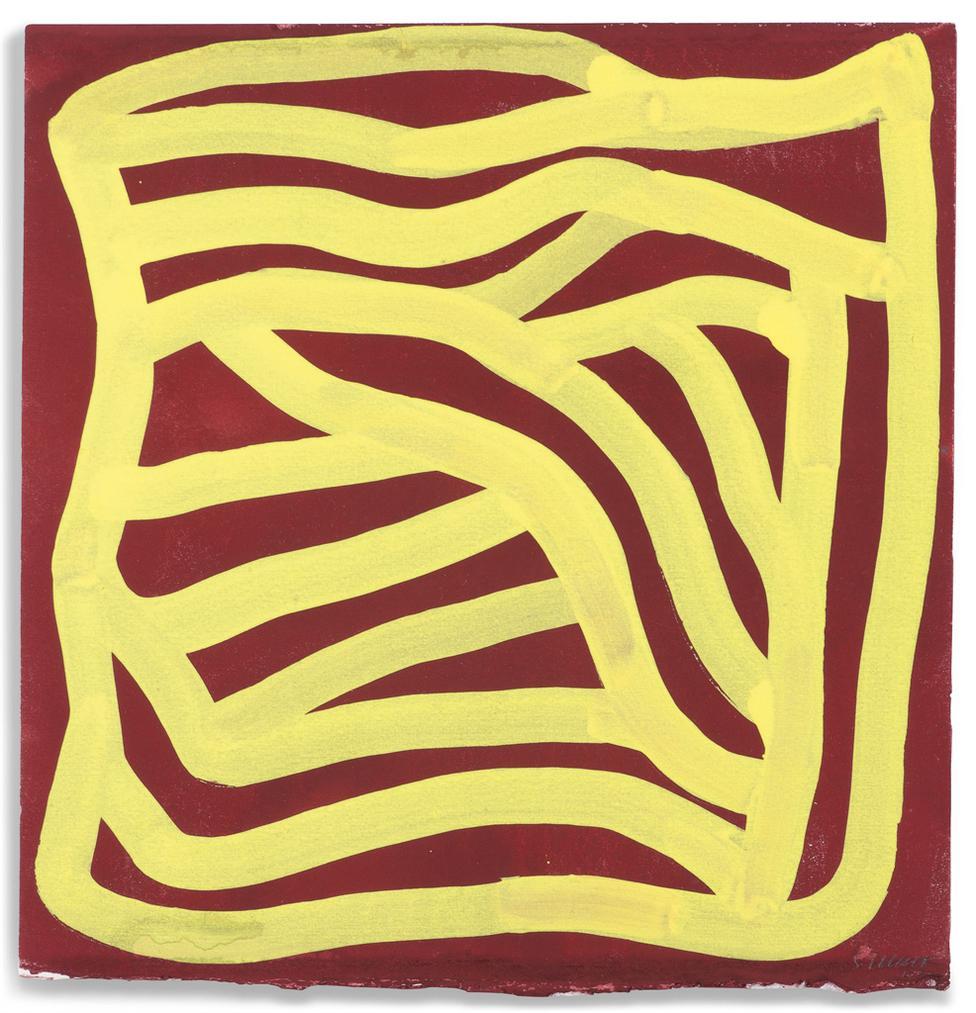 Sol LeWitt-Irregular Grid-2000