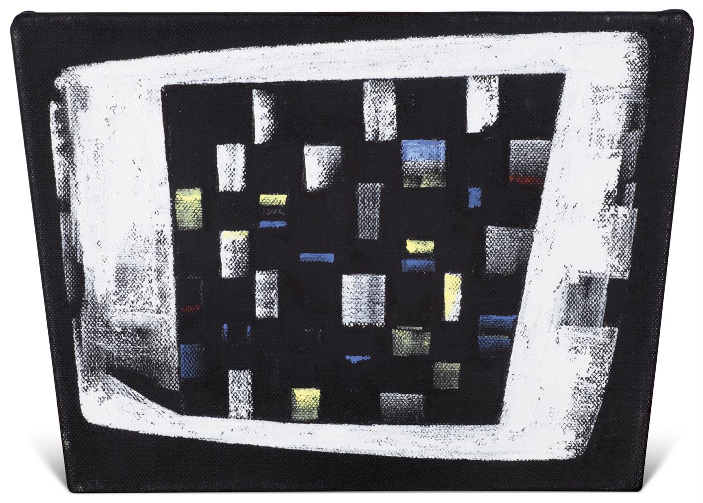 J.C.J. van der Heyden-Checker On Monitor-2001
