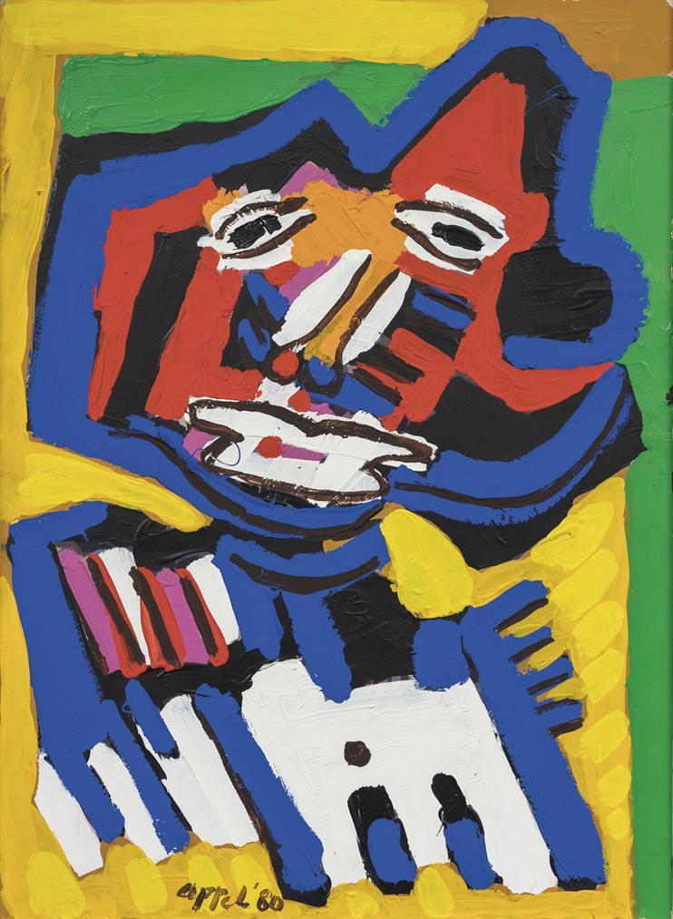 Karel Appel-Untitled-1980