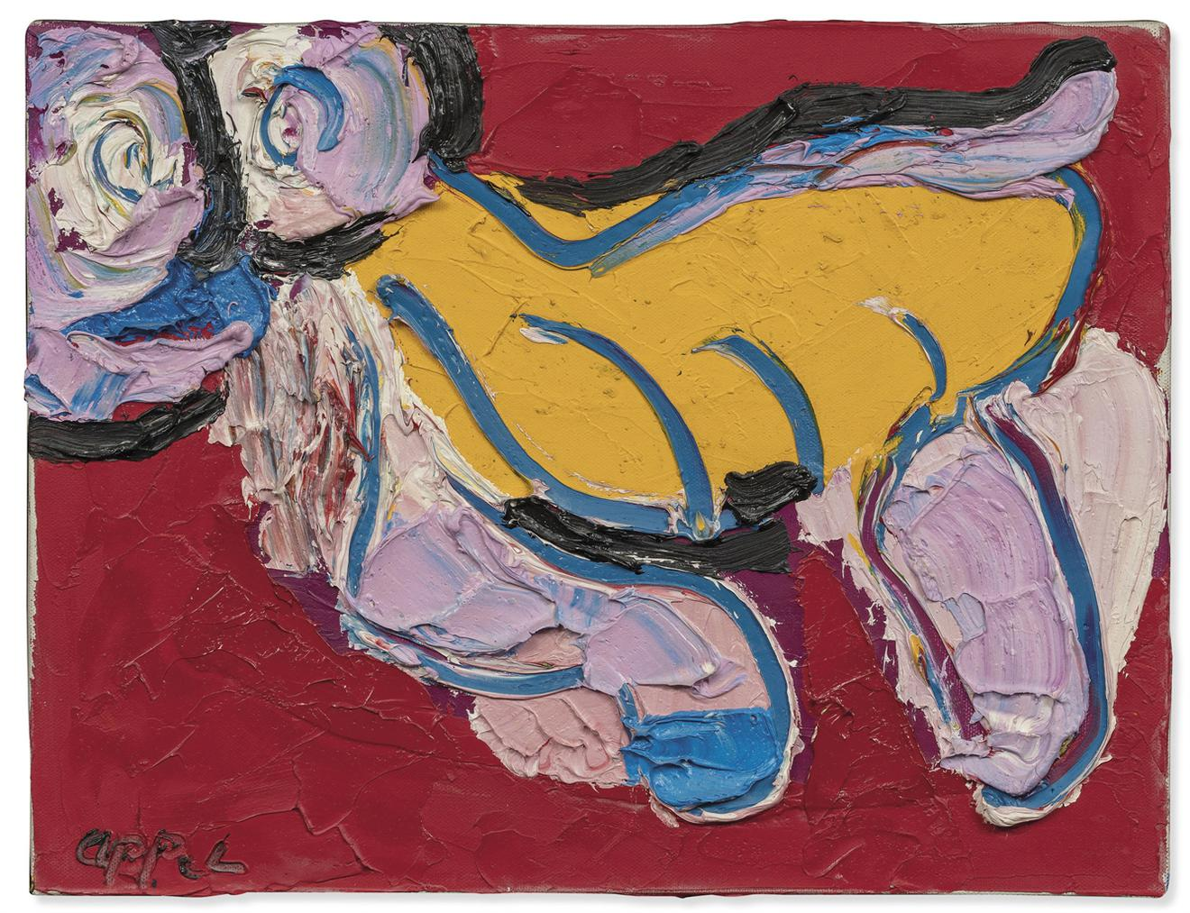 Karel Appel-Untitled-1973