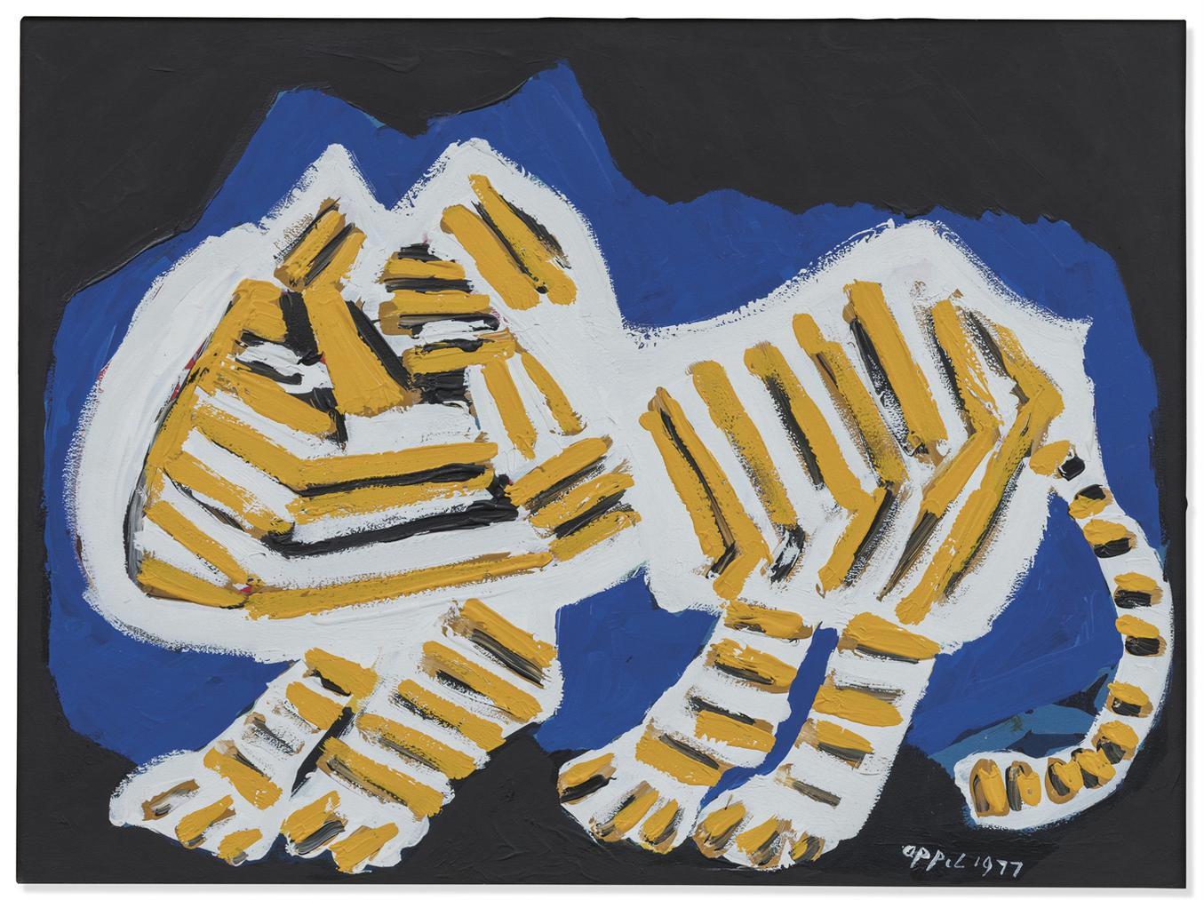 Karel Appel-Cat-1977