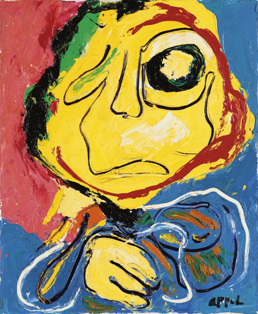 Karel Appel-Untitled-1974