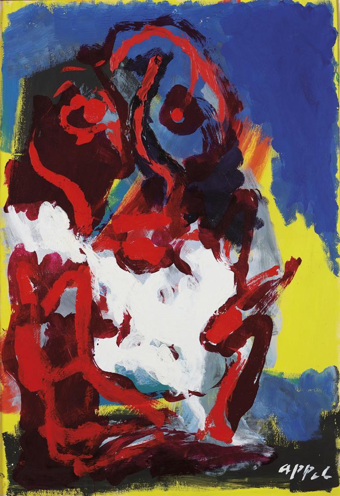Karel Appel-Untitled-1982