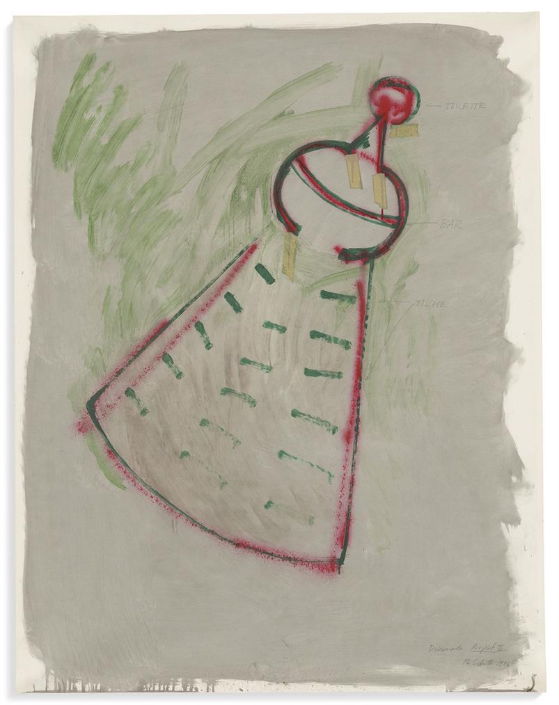 Thomas Schutte-Dokumenta. Projekt III-1986