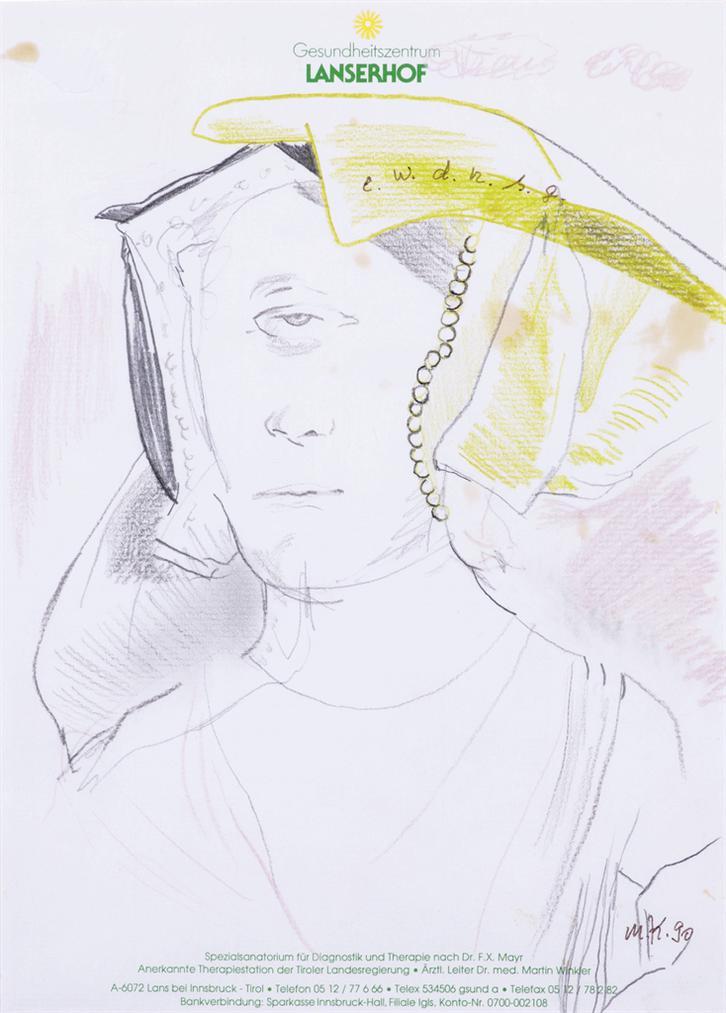 Martin Kippenberger-Untitled (Gesundheitszentrum Lanserhof)-1990