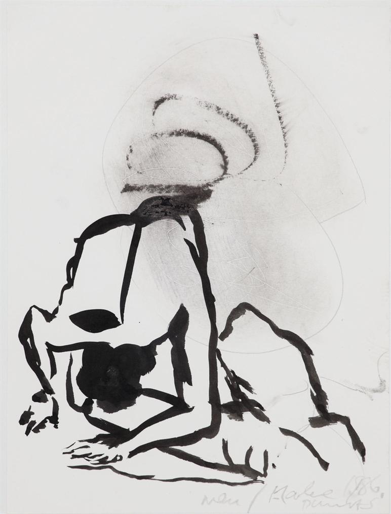 Marlene Dumas-Men-1986