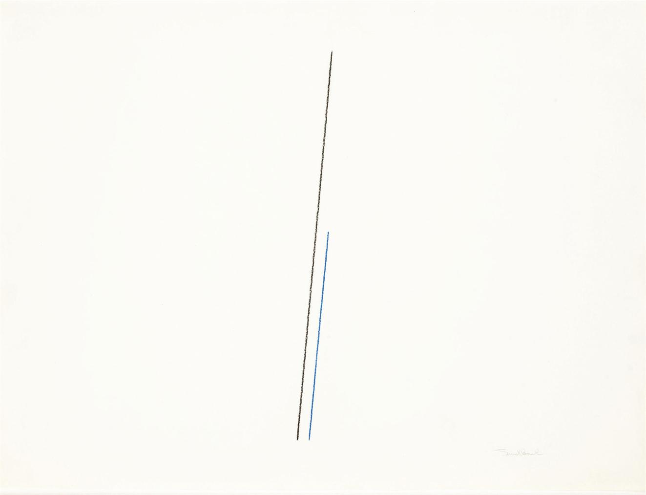 Fred Sandback-Untitled-1974