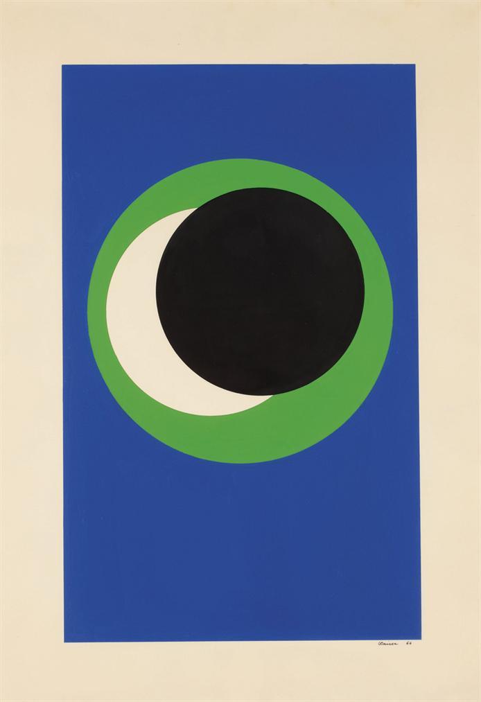 Genevieve Claisse-Cercle (Circle)-1966