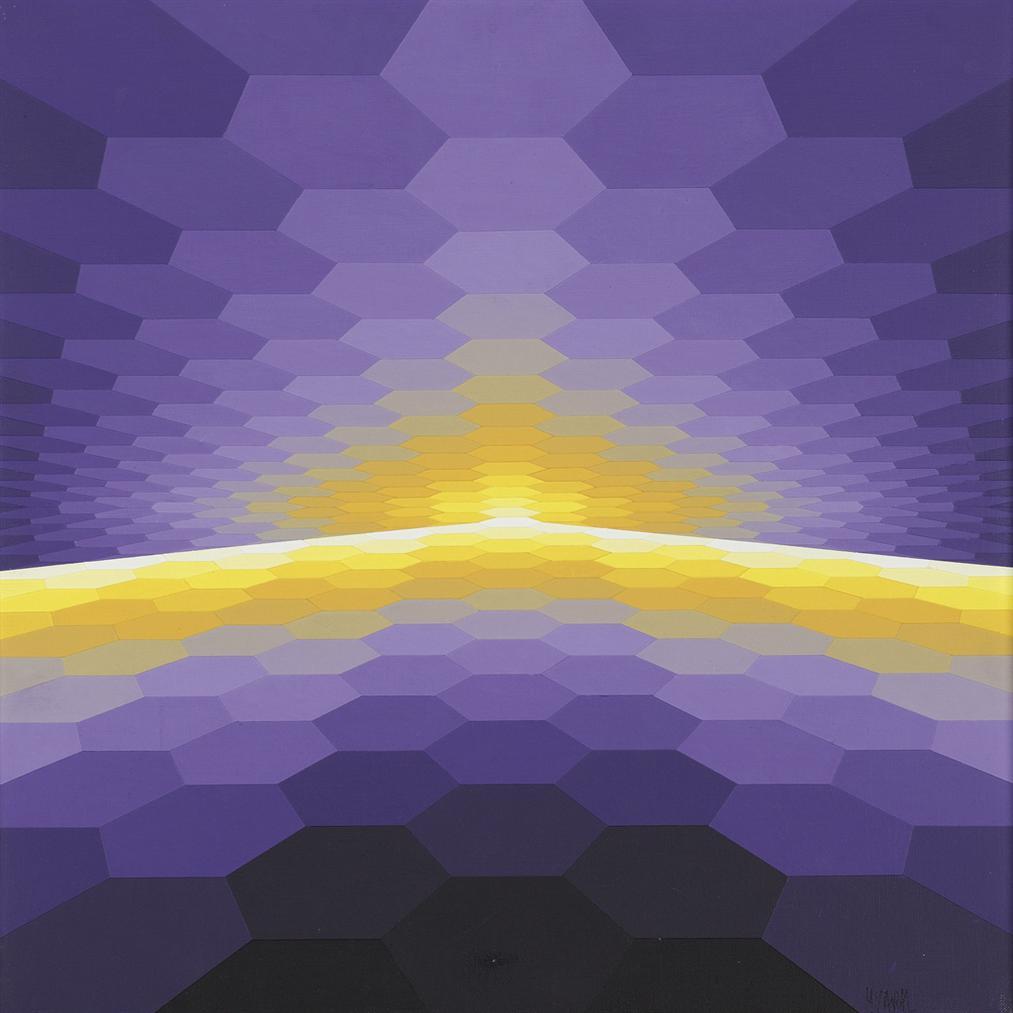 Yvaral-Horizon Structure Vi2 (Structured Horizon Vi2)-1976