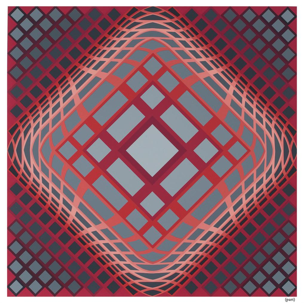 Victor Vasarely-Gaia-1975