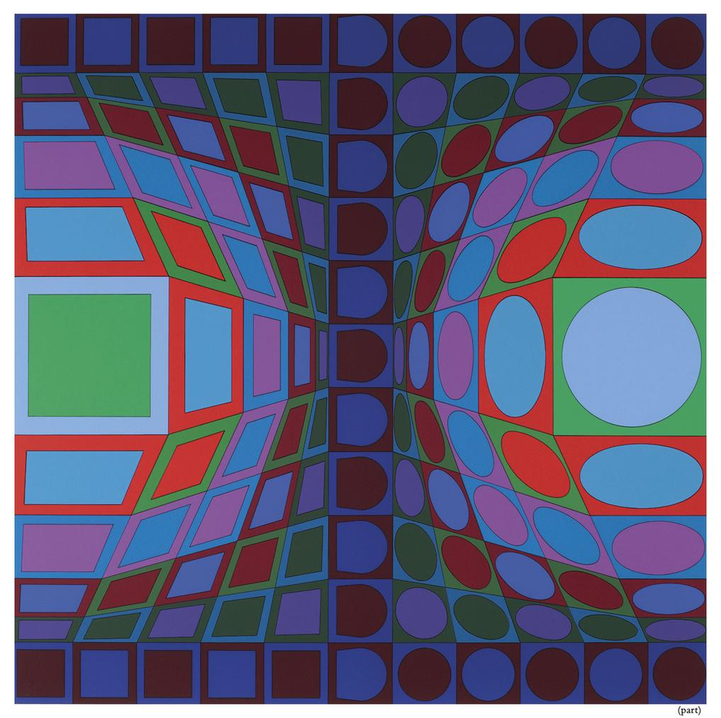 Victor Vasarely-Vi-Va-1978