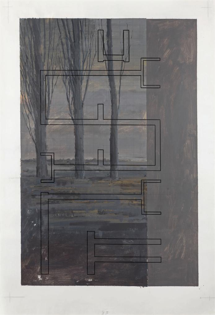 Art & Language-Study For Hostage 83-1991