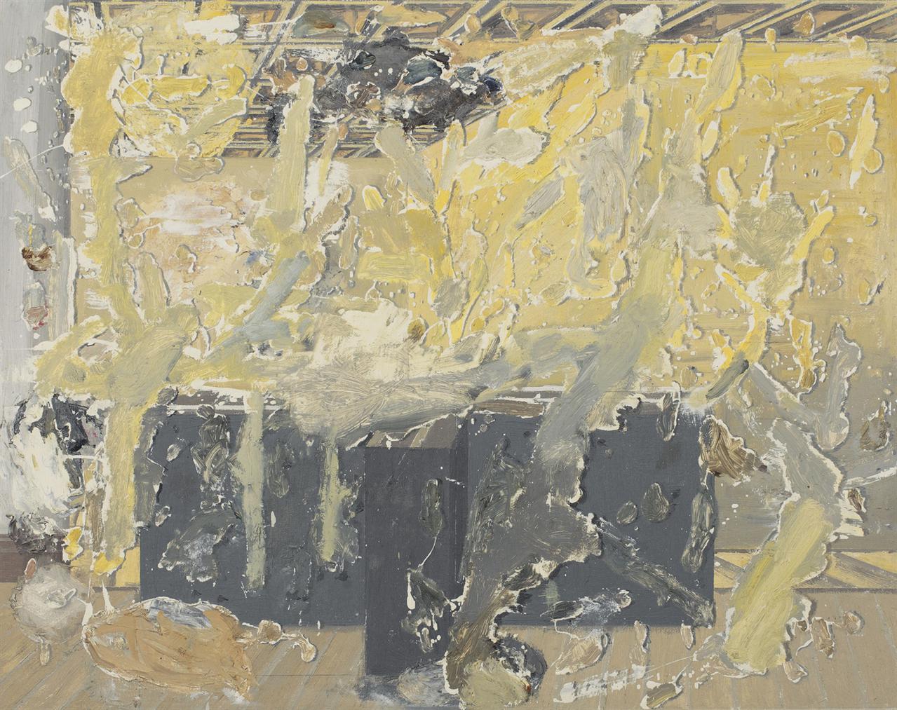 Art & Language-Background, Incident, Foreground, I-1994