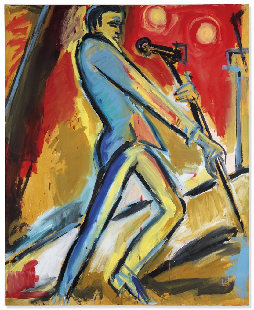 Helmut Middendorf - The Singer Standing-1981
