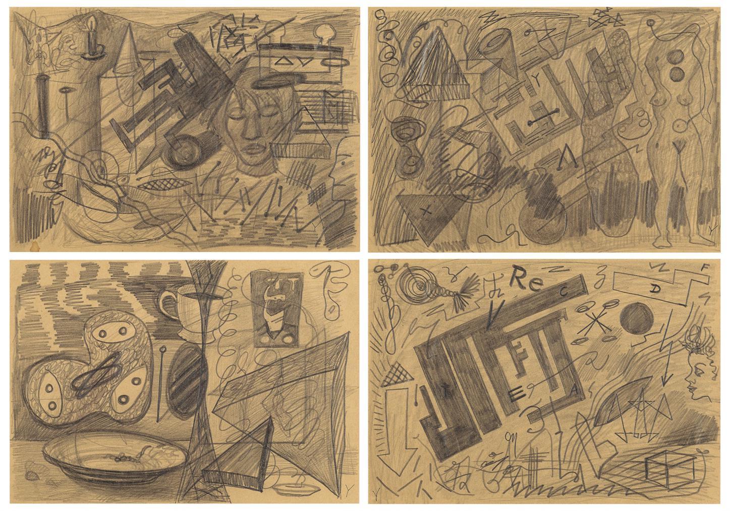 A.R. Penck-Chamelion-1977