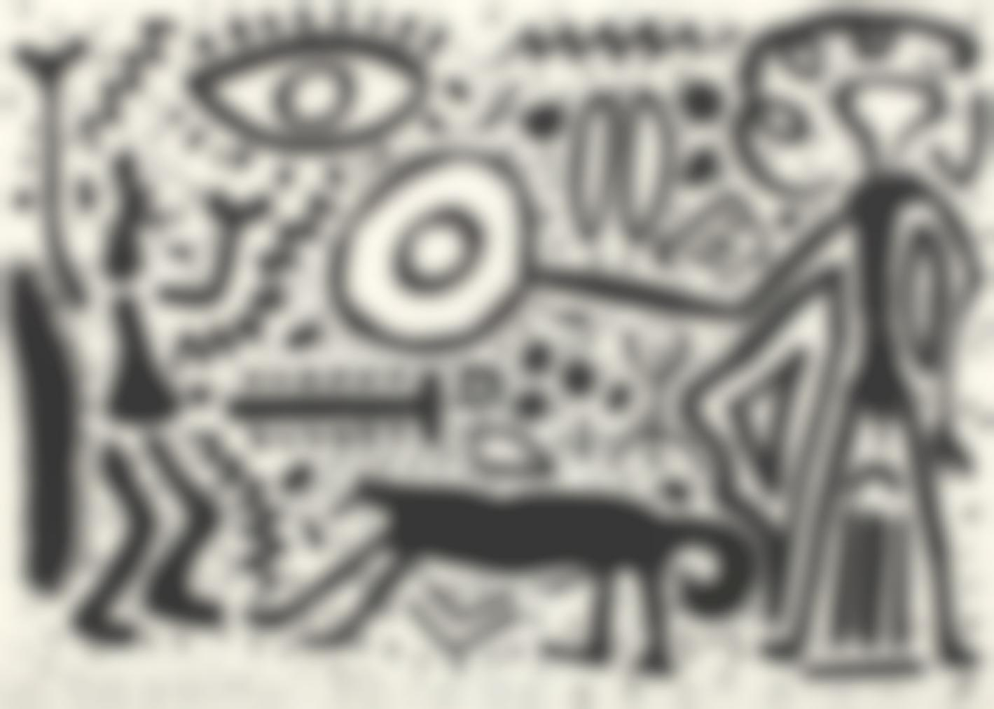 A.R. Penck-Untitled-