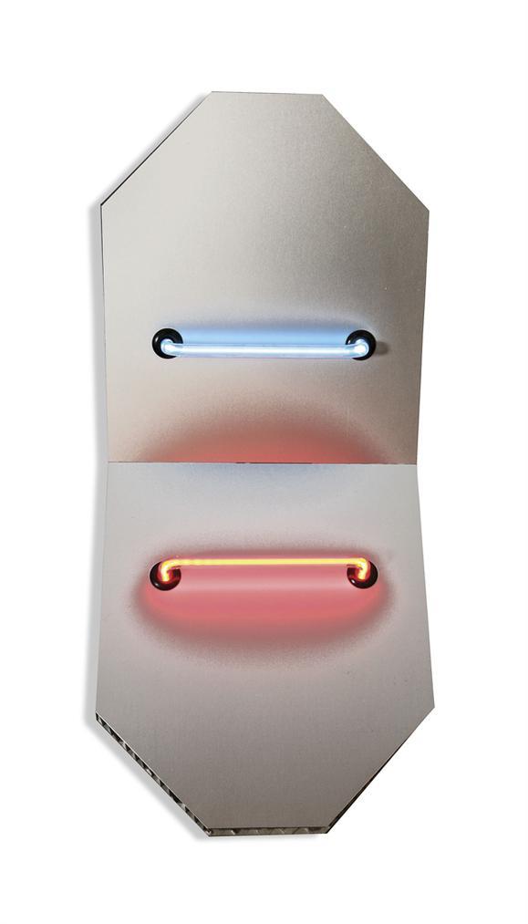 Keith Sonnier-Elliptical Shields Series V-2005