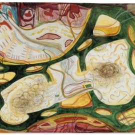 Franz Ackermann-Untitled (Mental Map: Two Private Sections)-1993