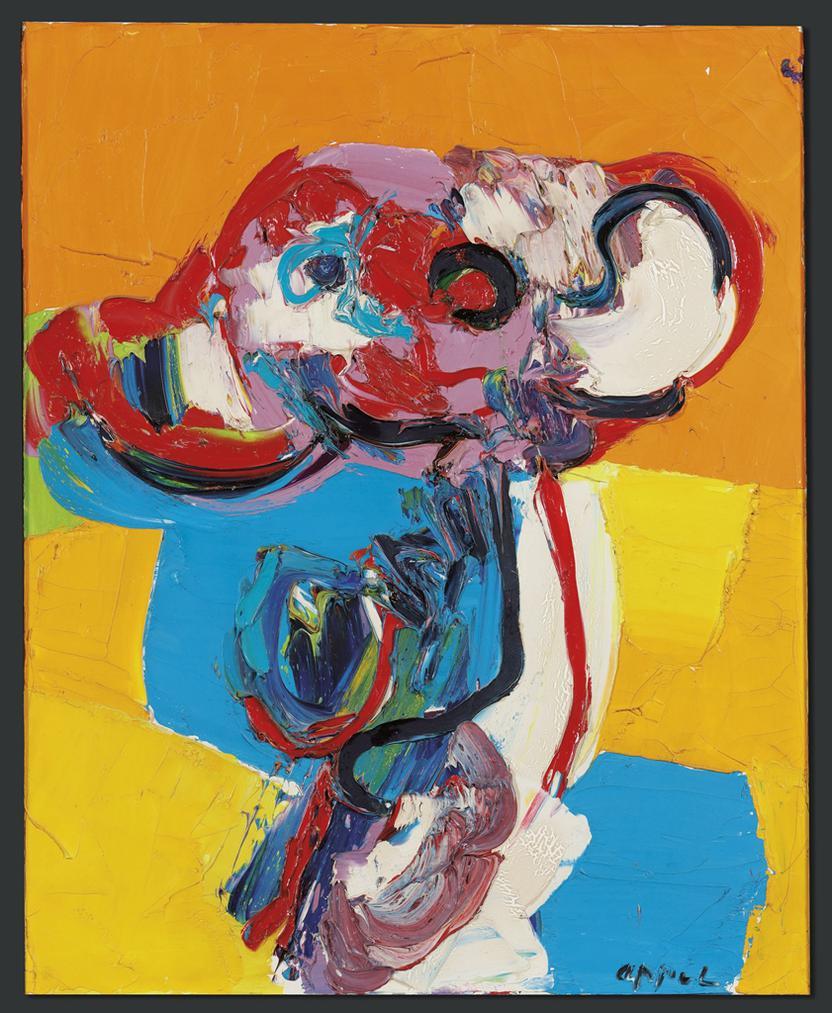 Karel Appel-Untitled-1967