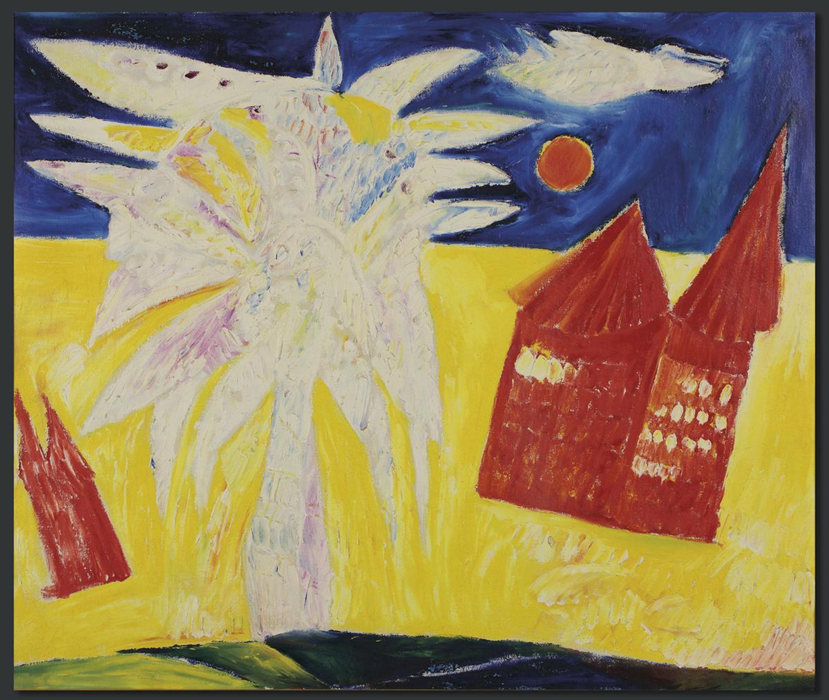 Carl-Henning Pedersen-Det Rode Hus (The Red House)-1952