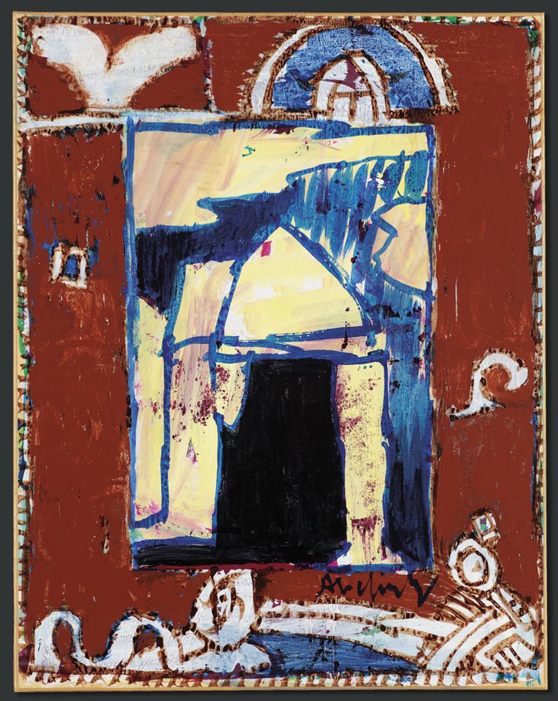 Pierre Alechinsky-En Desuetude (Obsolete)-2004