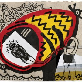 Keith Haring-Untitled-1989