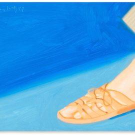 Alex Katz-Untitled (Study For Adas Sandals)-1987