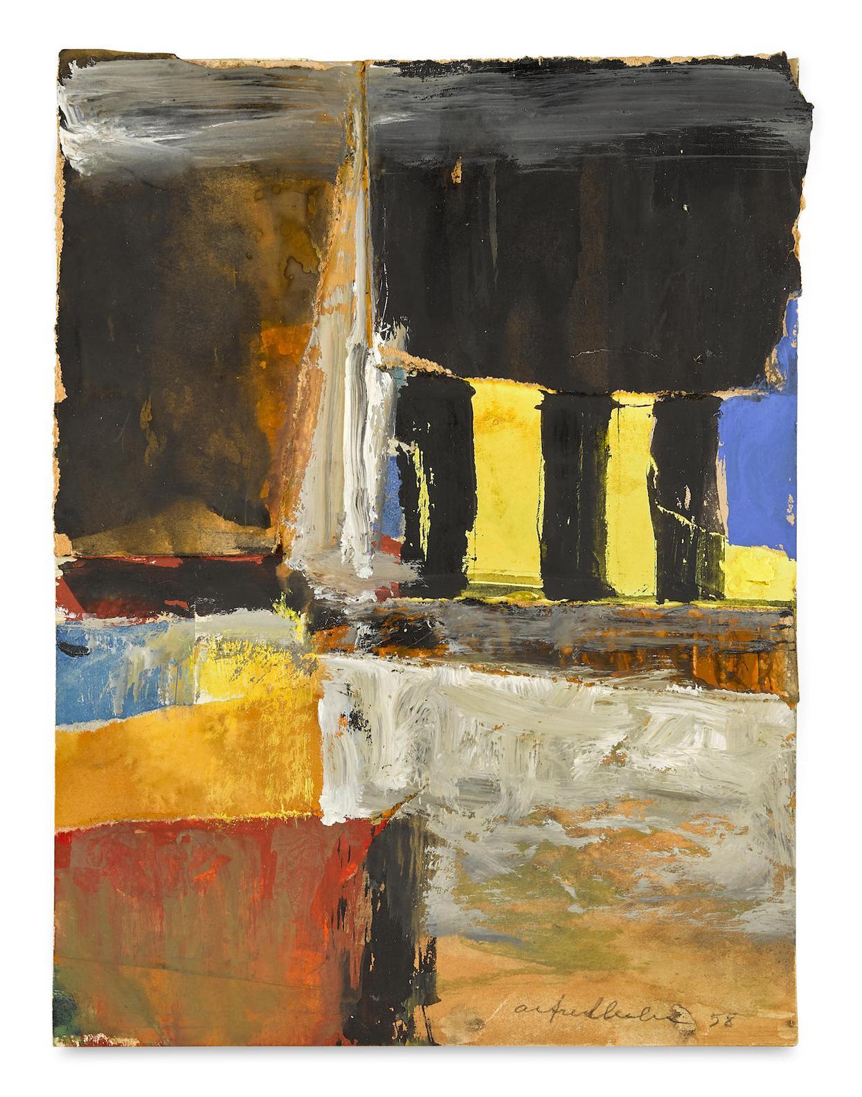 Alfred Leslie-Untitled-1958