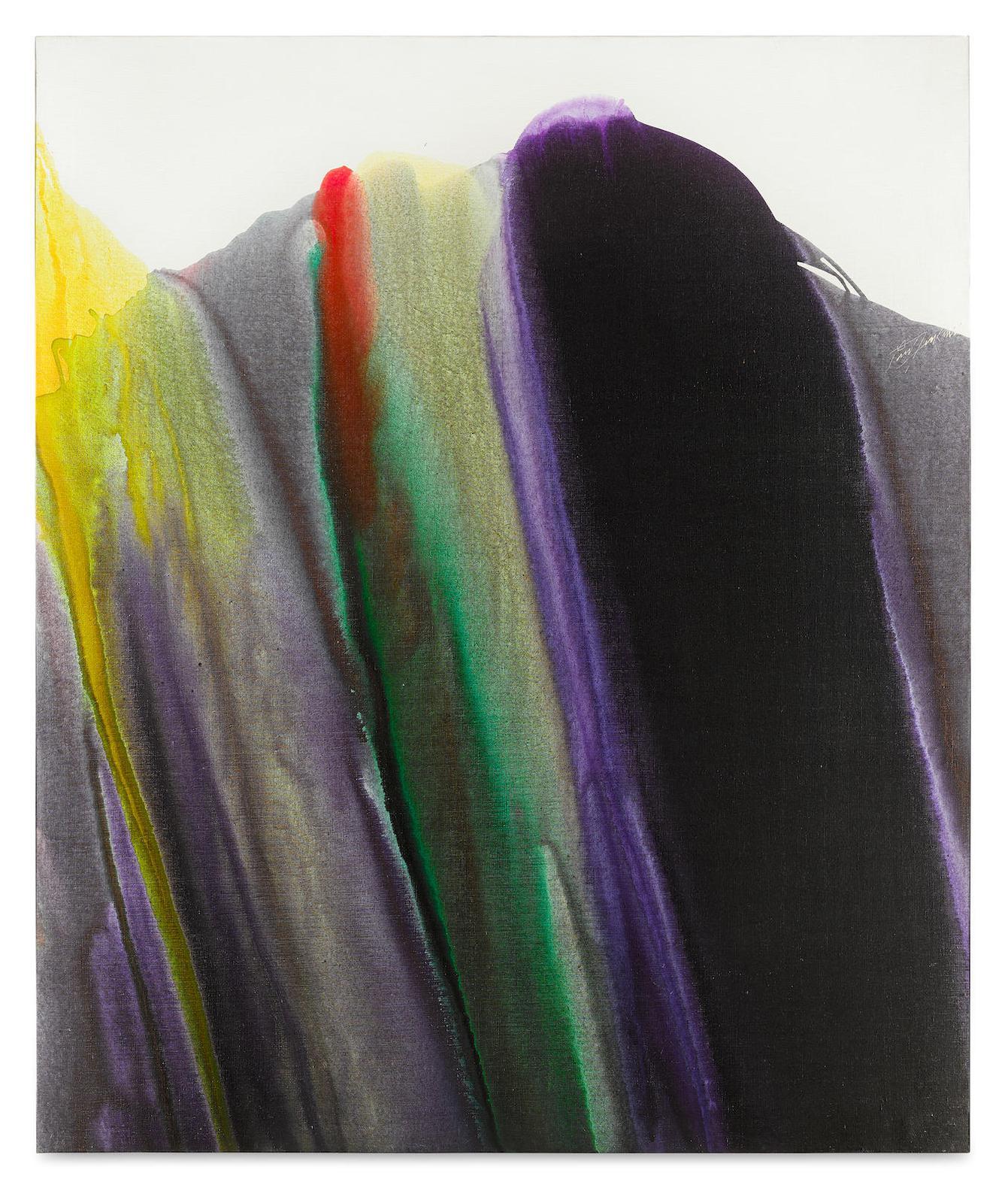 Paul Jenkins-Phenomena Saladins Robe-1974