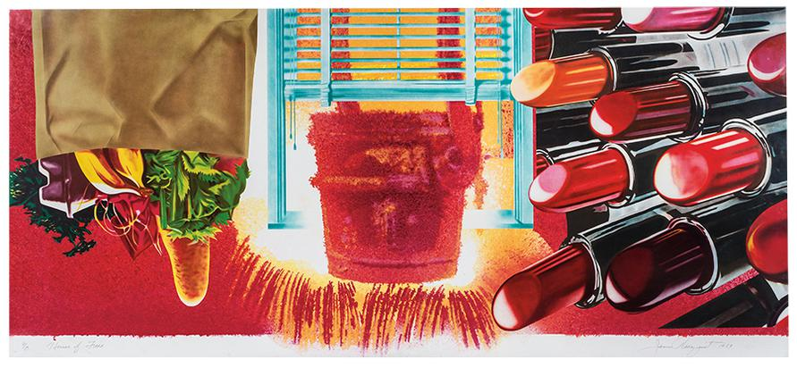 James Rosenquist-House Of Fire-1989