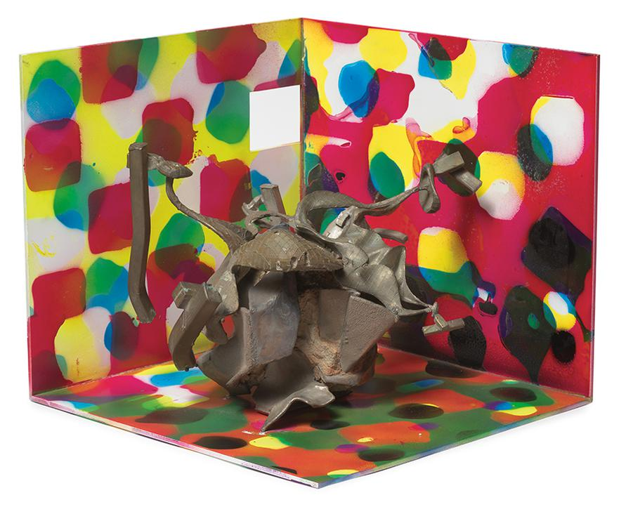 Frank Stella-Dieuze (From Dusseldorf Proposal-First Edition)-1992