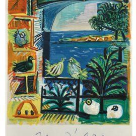 Pablo Picasso-Cote Dazur-1962