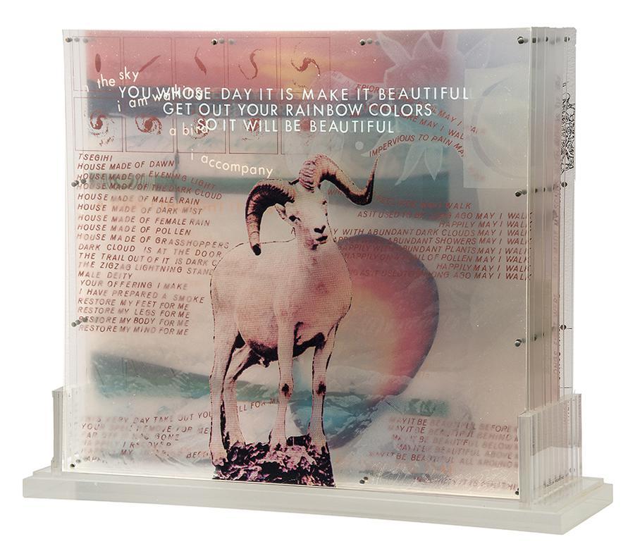 Robert Rauschenberg-Opal Gospel-1972