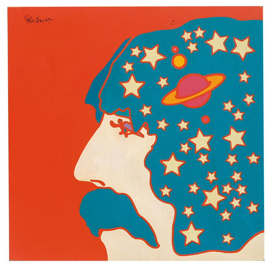 Peter Max-Self Portrait #1-1969