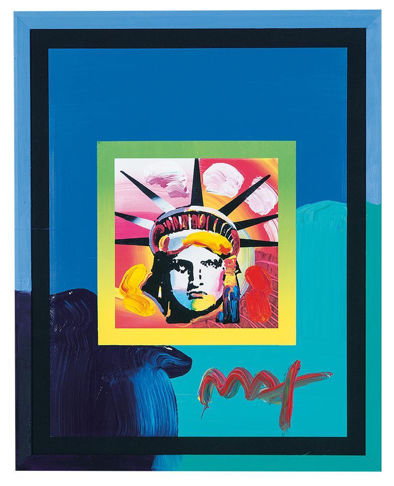 Peter Max-Liberty Head-