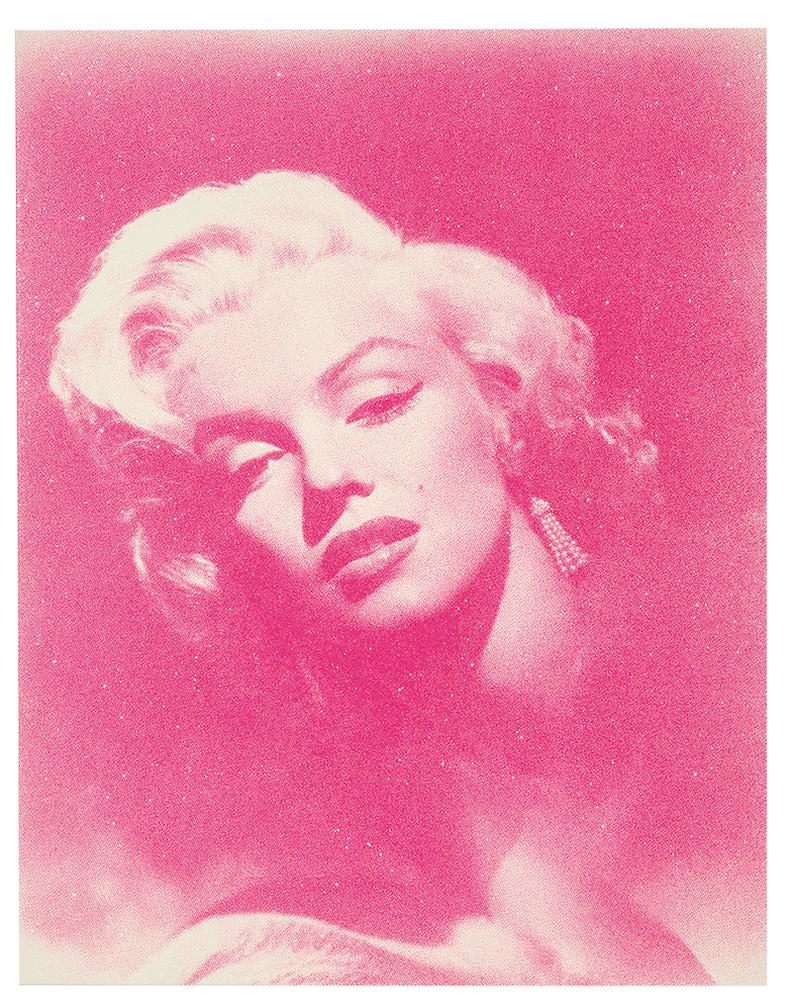 Russell Young-Marilyn Glamor (White And Suicide Pink)-2010