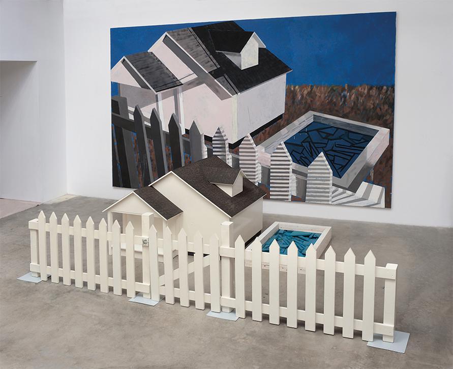 Jennifer Bartlett-White House-1985
