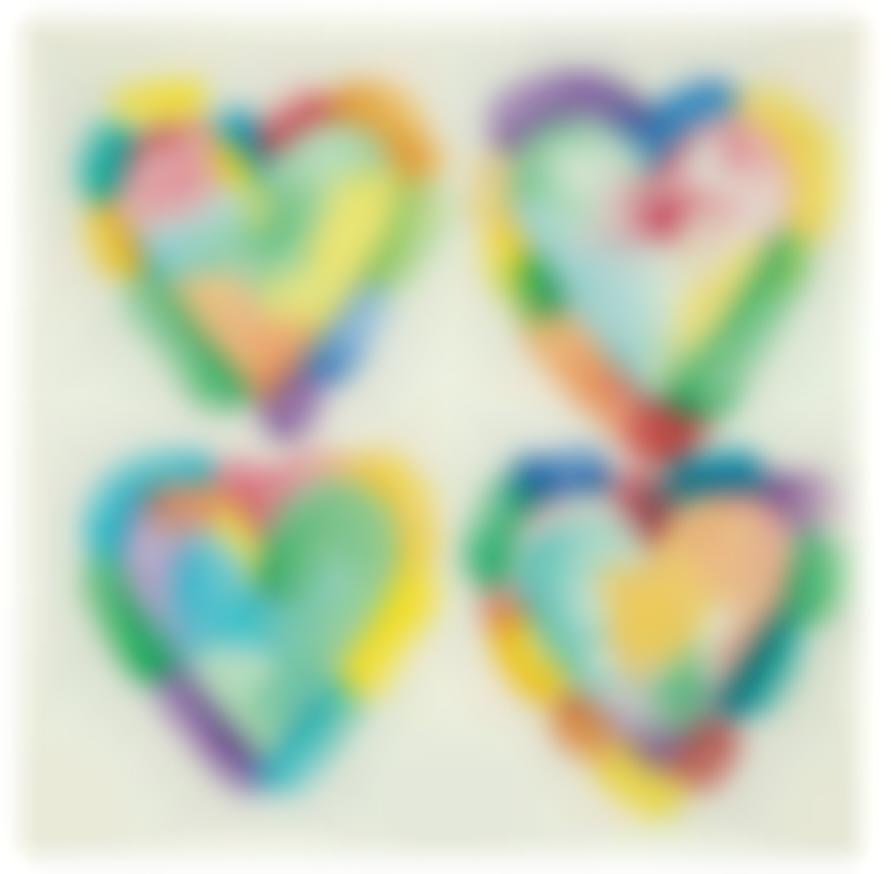 Jim Dine-Four Hearts-1970