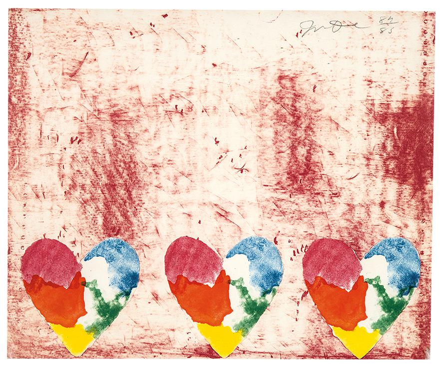 Jim Dine-Untitled (From Dutch Hearts)-1970