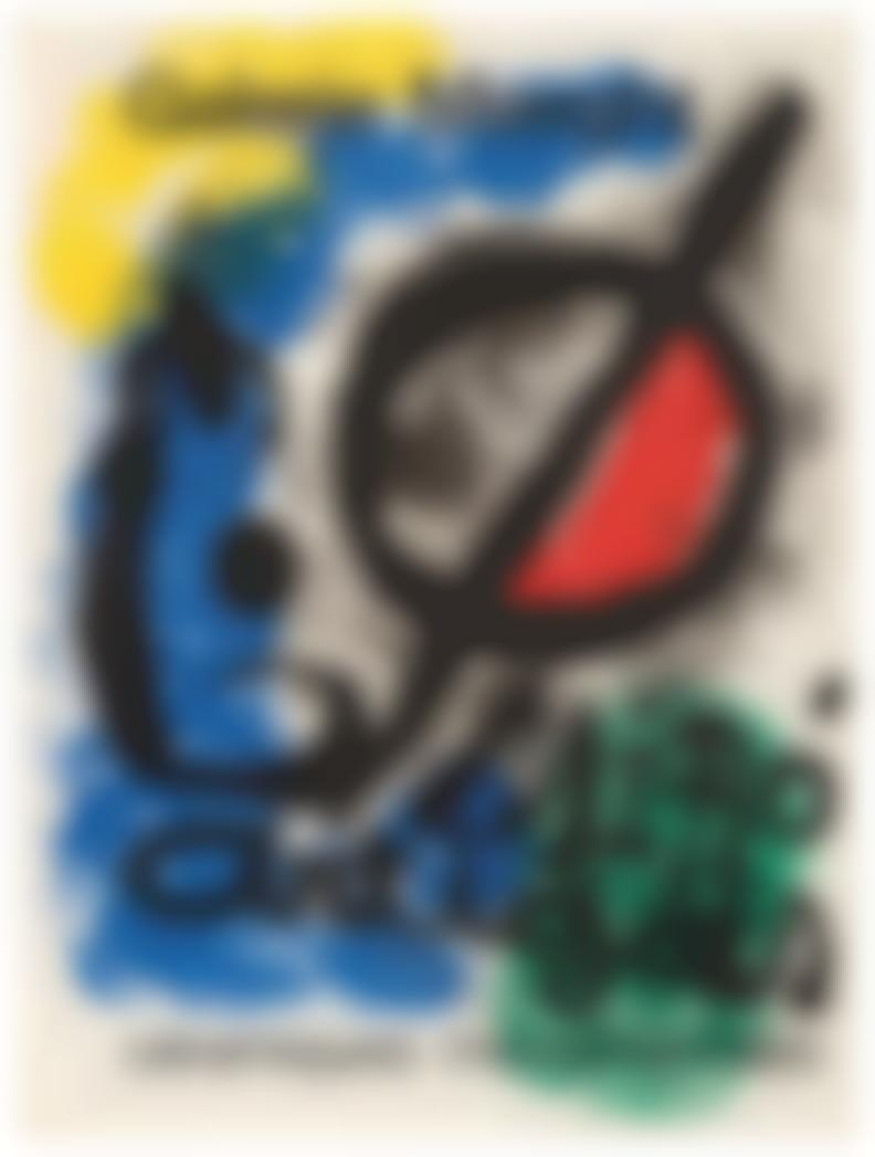 Joan Miro-Exhibition Posters By Maeght (9)-1966