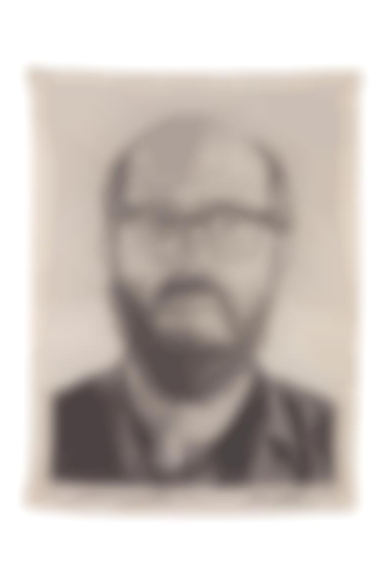 Chuck Close-Self Portrait-1993