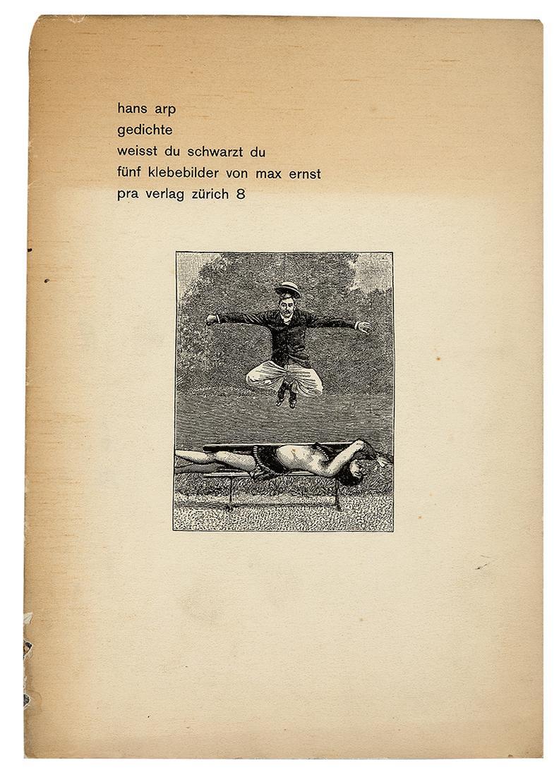 Max Ernst-Gedichte: Weisst Du Schwartz Du Funf Klebebilder Von Max Ernst-1930