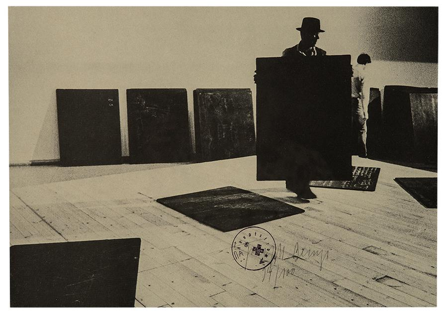 Joseph Beuys-Installation-1977