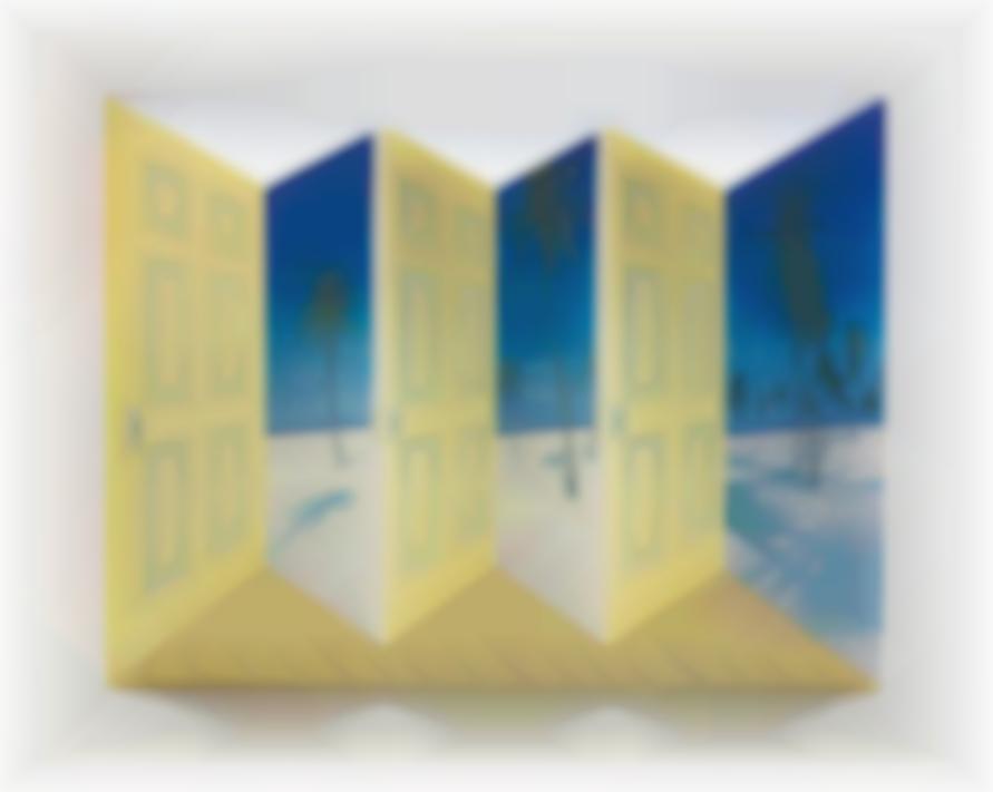 Patrick Hughes-Palm Door-1998