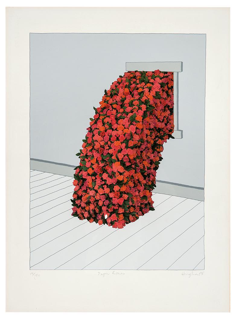 Patrick Hughes-Paper Roses-1985